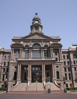 Tarrant Country Courthouse